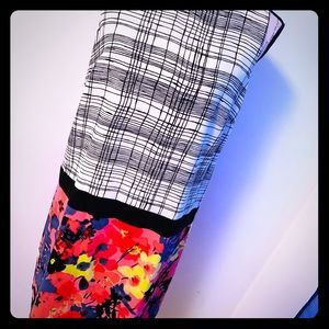 LOFT Half Half Dress by Ann Taylor